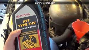 toyota camry 1997 11 how to change automatic transmission fluid