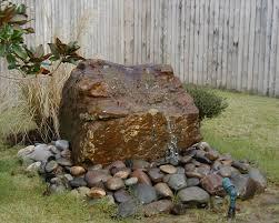 cozy outdoor rock water features similiar outdoor rock water