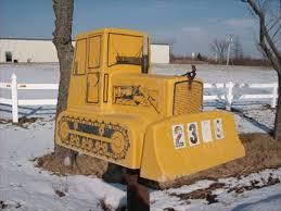 themed mailbox bulldozer mailbox grand island new york themed