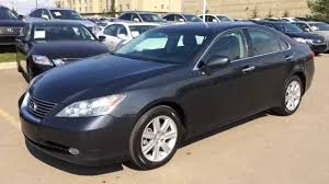 2008 lexus es 350 review pre owned gray on black 2009 lexus es 350 4dr sdn fwd navigation