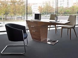 bureau professionnel bureau professionnel en noyer plaqué mobilier design cerdá