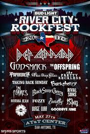 river of lights tickets def leppard headlines fifth annual bud light river city rockfest