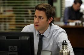 the office s jim s hair pictures popsugar entertainment