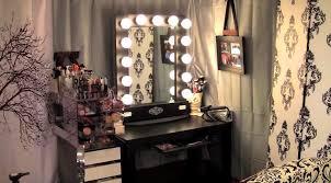 makeup vanities for bedrooms with lights best home design ideas