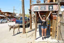 Arizona how do you spell travelling images Oatman arizona abandoned by people and inhabited by donkeys jpg