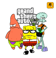 spongebob gta v by benny the ball on deviantart