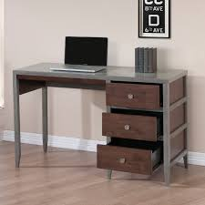 Tribeca Loft Desk by With Three Drawers For Easy Storage The Motley Writing Desk Is