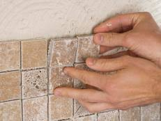 how to put backsplash in kitchen how to install a kitchen tile backsplash hgtv