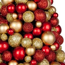 rich gold bauble berry 37cm mini tree time uk