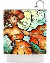 Kess Shower Curtains Spooktacular Fall Savings On Kess Inhouse Mandie Manzano Nola