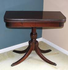 Duncan Phyfe Drop Leaf Dining Table Antique Duncan Phyfe Game Table Ebth