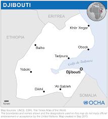 Djibouti Map Djibouti Reliefweb