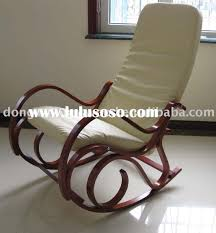 Padding For Rocking Chair Superb Wooden Rocking Chair Cushions For Your Mid Century Modern