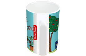 jayne allotment limited edition designer mug and coaster gift set