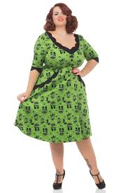 plus size vintage dresses voodoo vixen