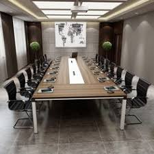 Office Conference Table Modern Conference Room Boardroom Design Business Decor