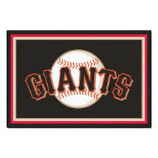 san francisco giants coloring pages fanmats san francisco giants 5 ft x 8 ft area rug 7082 the