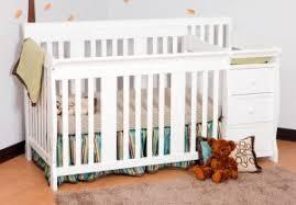 white mini crib with changing table espresso mini crib with changing table attached dennis hobson