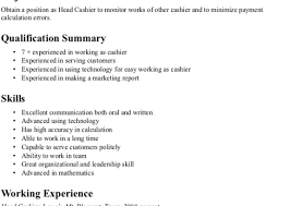 grocery clerk resume objective statement exles pleasing groceryore cashier resume sles with additional sle