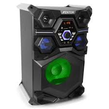 bluetooth party speakers with lights fenton live101 active party speaker 220w dj city