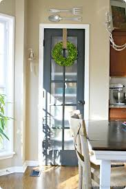 pantry door with frosted glass glass pantry door and the wreath on it kitchen pinterest