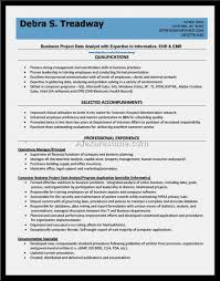 nice data analyst resume sample u2013 resume template for free