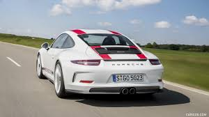 porsche white 911 2017 porsche 911 r white rear three quarter hd wallpaper 23