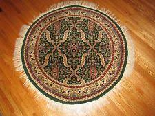 Round Traditional Rugs Geometric Round Traditional Persian Oriental Area Rugs Ebay