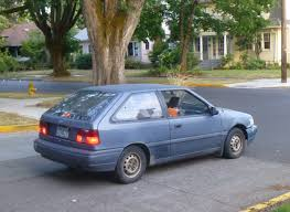 curbside classic 1987 hyundai excel u2013 the damn near deadly sin