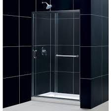 frameless sliding glass shower door bathroom frameless sliding shower doors lowes shower glass door