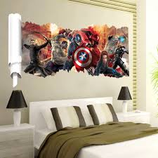 dhl avengers wall stickers kid room home decoration living undefined