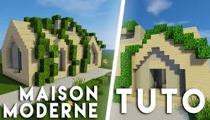 Maison Modern Minecraft by Minecraft Tuto Comment Faire Une Maison Moderne Campagne Youtube
