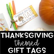 thanksgiving gift tags by the social speechie teachers pay teachers