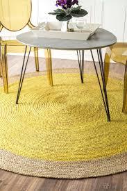 Round Table Rectangular Rug Best 25 Rectangular Rugs Ideas On Pinterest Crochet Carpet Diy