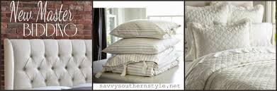 savvy southern style bed and bedding choices