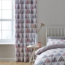Pink And Grey Curtains Sourcing Ready Made Curtains Cloverdesain