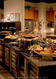 Round Table Lunch Buffet by Dinner Party Buffet Decorations Google Search Buffet Table