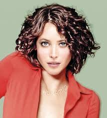 curly layered haircuts round face short layered hairstyles for