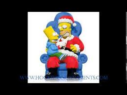 2014 d oh ho ho hallmark the simpsons ornament