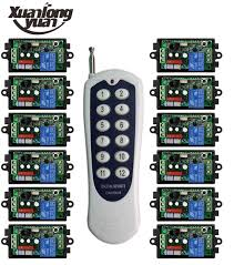long range remote control light switch xuanlongyua 1000m long range ac220v 1ch remote control light switch