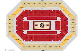 Acc Floor Plan by Seating Charts Donald L Tucker Civic Center