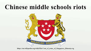 Chinese Flag Wiki Chinese Middle Schools Riots Youtube