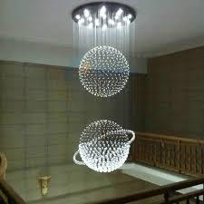 Large Pendant Lights Aliexpress Com Buy Crystal Pendant Light Led Restaurant Lights