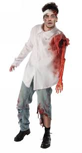 zombie costume spirit halloween zombie costumes for adults nightmare factory 1 of 2 pages