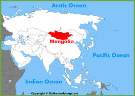 Asia World Map by Mongolia Location On The Asia Map
