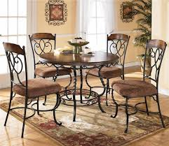 Ashley Furniture Glass Coffee Table Normandy Round Table With 4 Side Chairs By Ashley Furniture