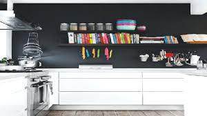 peinture lavable pour cuisine peinture blanche cuisine un mur noir dans une cuisine blanche cest