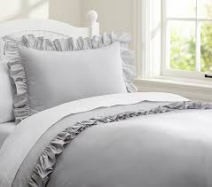 vintage ruffle duvet cover a cottage in the city for incredible