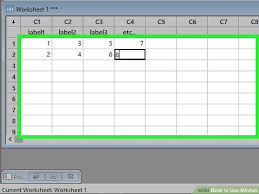 how to use minitab with pictures wikihow