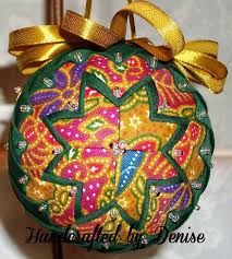 25 unique quilted fabric ornaments ideas on diy